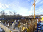 Ход строительства дома Литер 2 в ЖК Грин Парк - фото 7, Февраль 2021
