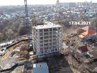 ЖК Азбука - ход строительства, фото 23, Апрель 2021