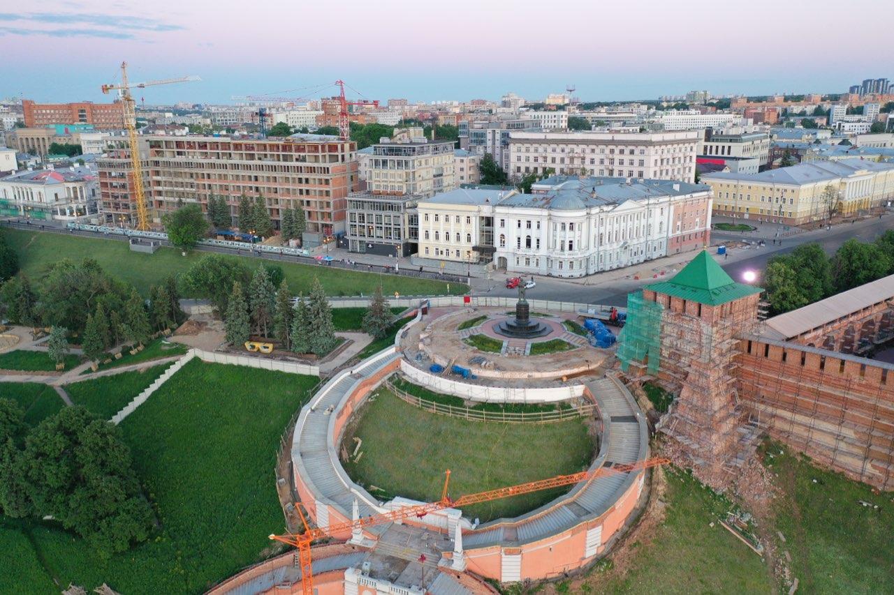 Реставрация Чкаловской лестницы подходит к завершению в Нижнем Новгороде - фото 2