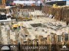 Ход строительства дома Литер 1 в ЖК Грин Парк - фото 11, Декабрь 2020