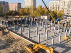 Ход строительства дома № 1 первый пусковой комплекс в ЖК Маяковский Парк - фото 81, Октябрь 2020