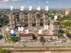 Ход строительства дома Литер 1 в ЖК Звезда Столицы - фото 15, Июнь 2020