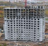 Ход строительства дома № 7 в ЖК Цветы 2 -