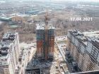 ЖК Горизонт - ход строительства, фото 9, Апрель 2021