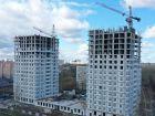 Ход строительства дома № 1 первый пусковой комплекс в ЖК Маяковский Парк - фото 34, Май 2021