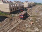 Ход строительства дома 1 типа в Микрогород Стрижи - фото 33, Июнь 2017