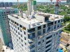 Ход строительства дома № 1 первый пусковой комплекс в ЖК Маяковский Парк - фото 24, Июнь 2021