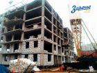Ход строительства дома № 6 в ЖК Заречье - фото 45, Декабрь 2019