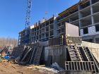 Ход строительства дома № 3 в ЖК Квартет - фото 14, Апрель 2021