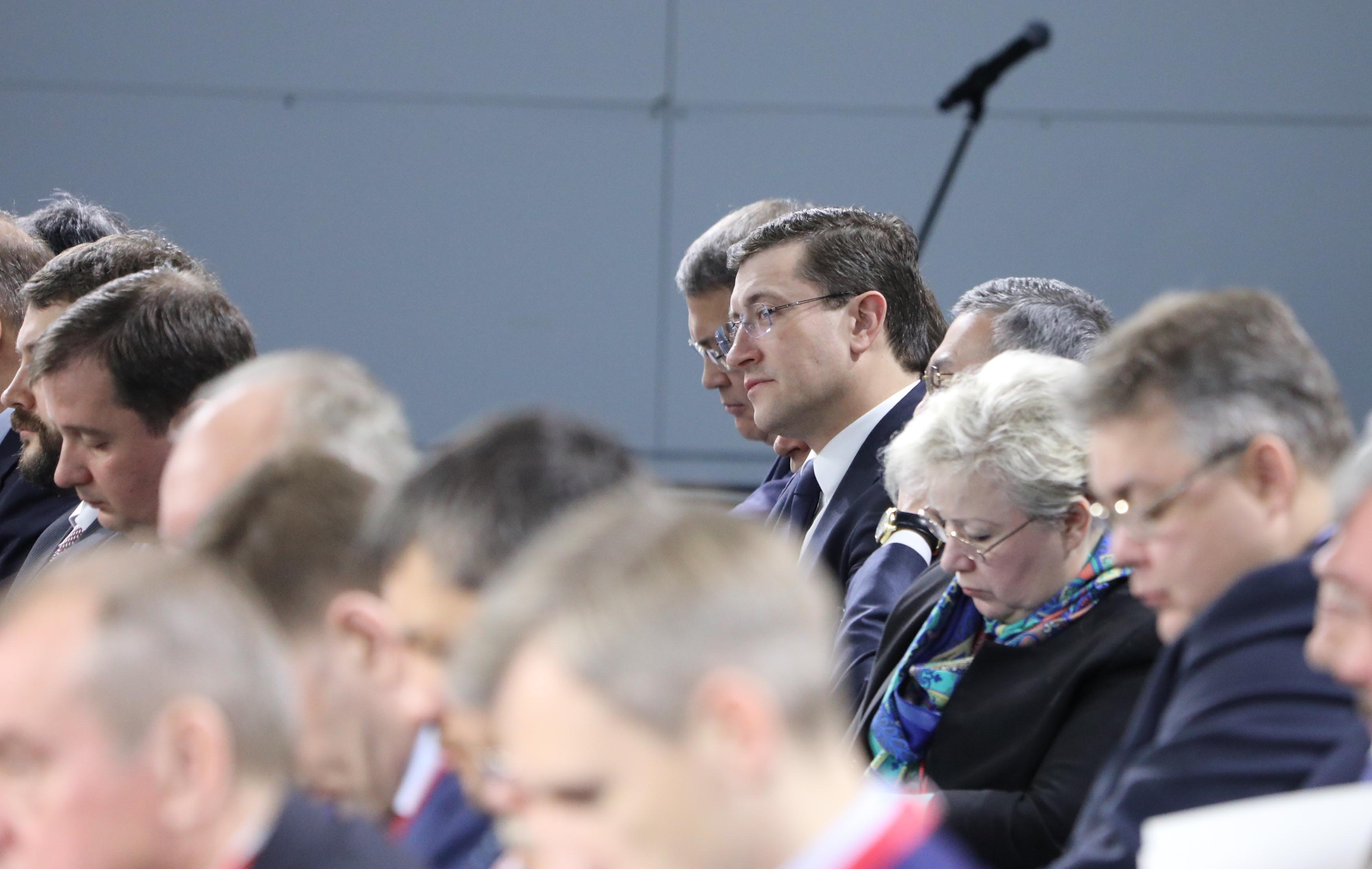 Нижегородский губернатор Глеб Никитин принял участие во встрече Дмитрия Медведева с главами регионов России