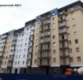 Ход строительства дома № 9 в Микpopaйoн  Преображенский -