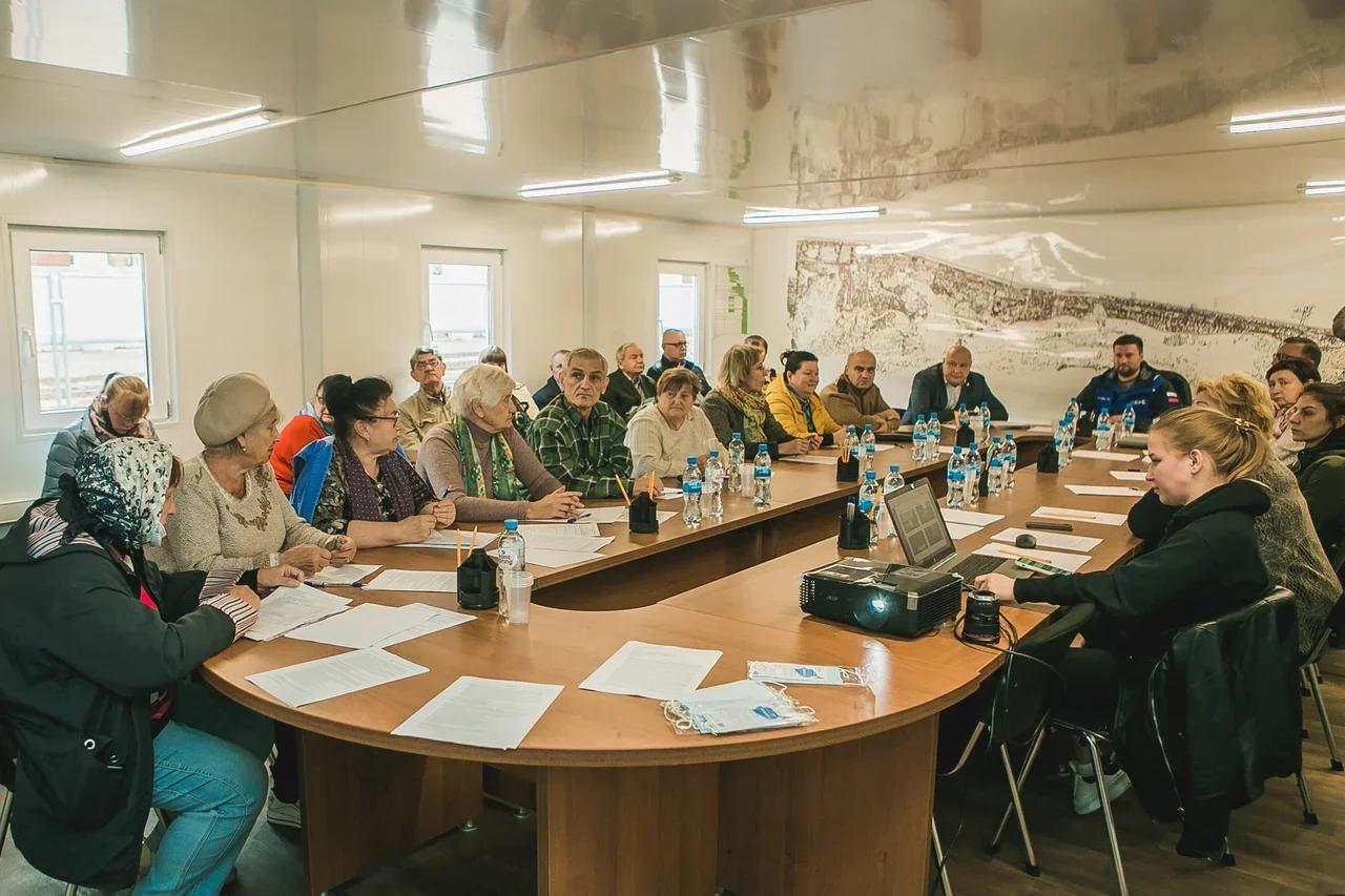 Проект преображения «Швейцарии» одобрили ветераны Приокского района - фото 1