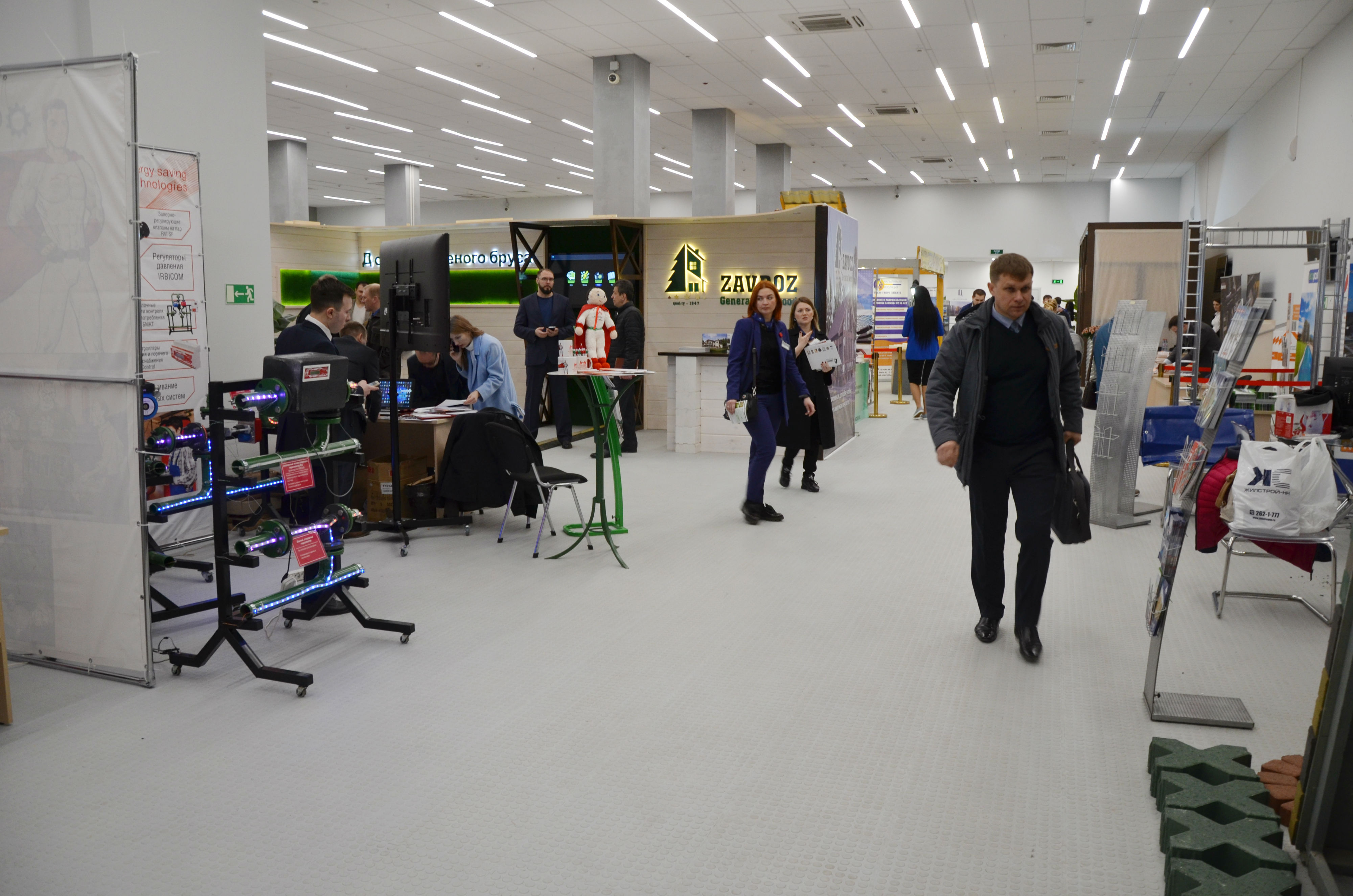 Региональный инвестиционно-строительный форум «Домострой-2019» открылся в Нижнем Новгороде - фото 4
