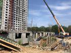 Ход строительства дома № 3 в ЖК Подкова на Родионова - фото 3, Июль 2021
