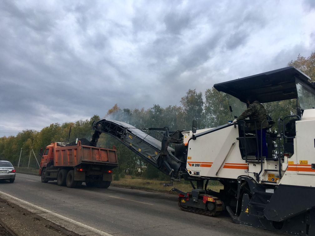 Дороги Сергиевского района обновили в рамках нацпроекта