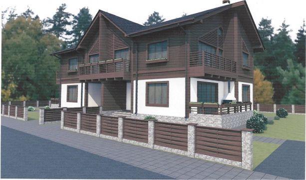 Дом Типа дуплекс (175,5 м2) в КП DolinaGreen (Долина Грин) - фото 4