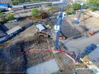 Ход строительства дома Литер 1 в ЖК Звезда Столицы - фото 131, Апрель 2018