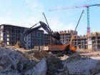 Ход строительства дома Литер 3 в ЖК Самолет 2 - фото 9, Март 2021