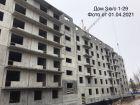 Ход строительства дома № 3 в ЖК Корабли - фото 21, Апрель 2021
