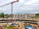 Ход строительства дома № 5 в ЖК Ватсон - фото 20, Июнь 2021