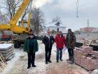 Жилой дом: Городец, ул. Макарова, д. 5 - ход строительства, фото 63, Март 2020
