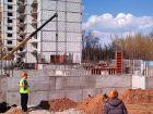 Ход строительства дома № 12 в ЖК На Победной - фото 26, Апрель 2014