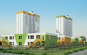 Детский сад на 300 мест в микрорайоне «Бурнаковский»