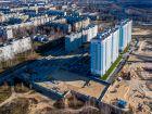 Ход строительства дома № 10 в ЖК Корабли - фото 14, Декабрь 2019