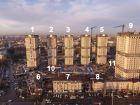 Ход строительства дома Литер 9 в ЖК Звезда Столицы - фото 13, Февраль 2021